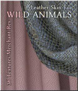 Wild Animals- 36 seamless Textures MR