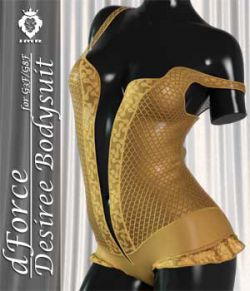 JMR dForce Desiree Bodysuit for G3F and G8F