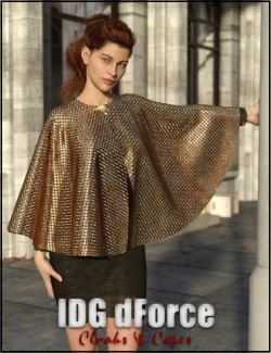 IDG dForce- Cloaks and Capes