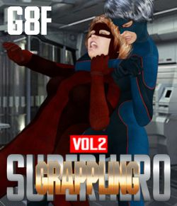SuperHero Grappling for G8F Volume 2