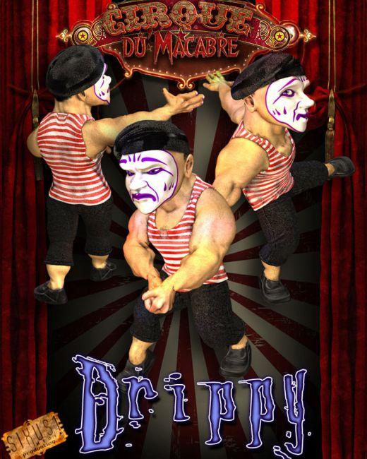 Cirque Du Macabre: Drippy The Clown Uni-Dwarf Add-on