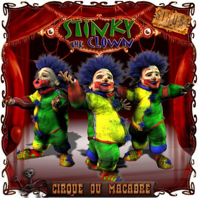 Cirque Du Macabre: Stinky The Clown Uni-Dwarf Add-on