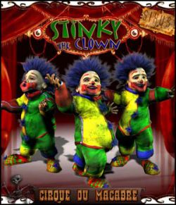 Cirque Du Macabre: Stinky The Clown Uni-Dwarf Add-on