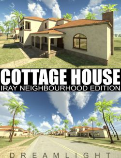 Cottage House - Iray Neighbourhood Edition