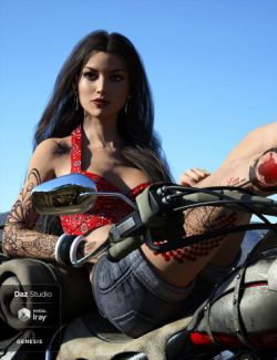 LIE Tattoo Presets 2 for Genesis 3 and 8 Female