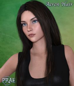 Prae Aeren Hair for G3 G8 Daz