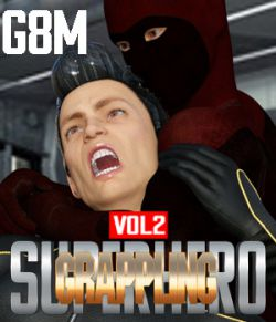 SuperHero Grappling for G8M Volume 2