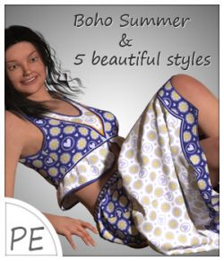 Boho Summer and 5 Styles for Project Evolution- Poser