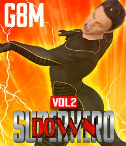 SuperHero Down for G8M Volume 2