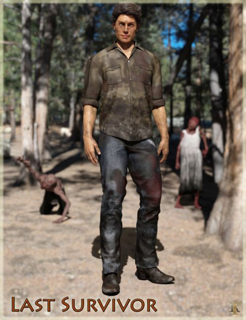 Last Survivor Outfit for Genesis 8 Male(s)