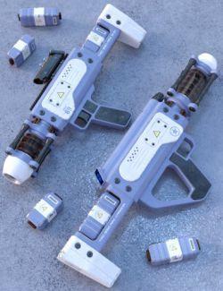 TAC-550 Arc Cannon Set