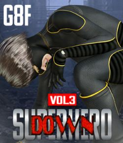 SuperHero Down for G8F Volume 3