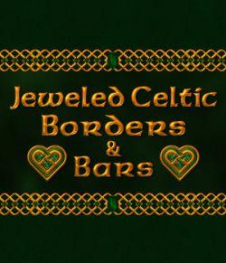 Jeweled Celtic Borders and Bars w/Bonus Gift
