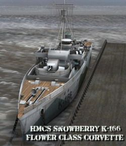 HMCS Snowberry- for Poser
