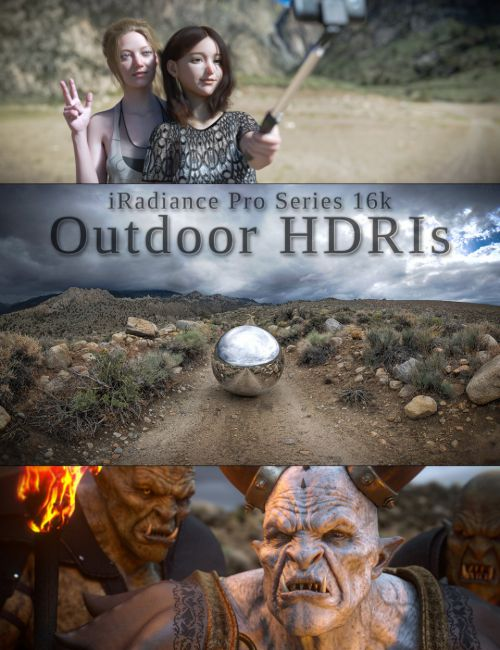 iRadiance Pro Series 16k HDRIs - Big Outdoors