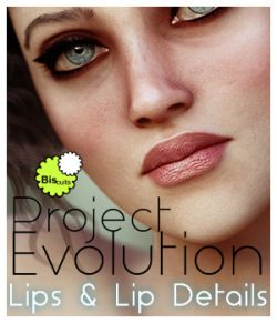 Biscuits Lips & Lip Details MR for Project Evolution PE