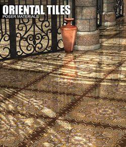 Poser- Oriental Floors