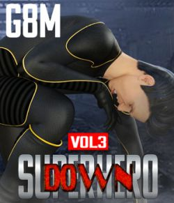 SuperHero Down for G8M Volume 3