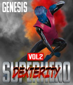 SuperHero Dexterity for Genesis Volume 2
