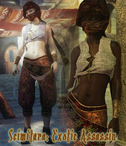 Scimitara Exotic Assassin for Genesis 8 Female