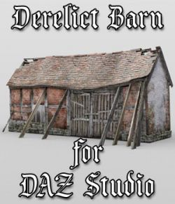 Derelict Barn for DAZ Studio