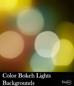 Color Bokeh Backgrounds