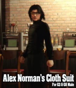 Alex Norman Cloth Suit for G3 & G8 Male