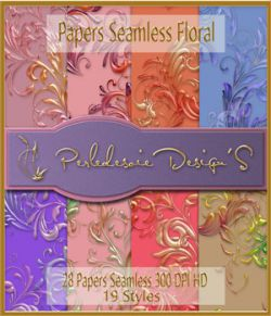 Paper seamless et styles fusion