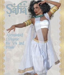 Safia Dynamic for V4 and Poser