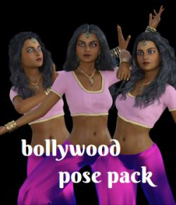 Bollywood Pose Pack for G8F