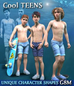 Cool TEENS for G8M - Unique Character Shapes