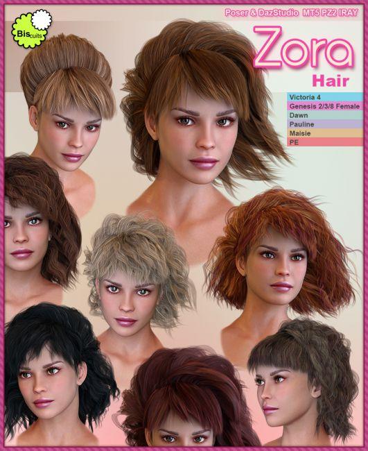 Biscuits Zora Hair
