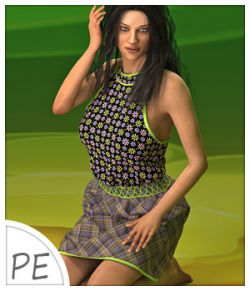 Lisa Dress and 7 Styles for Project Evolution- Poser