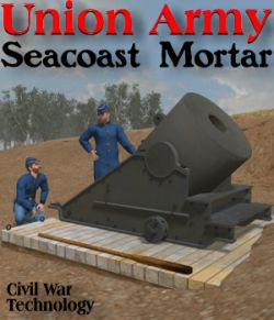 Union Army Seacoast Mortar