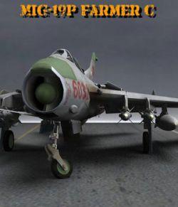 MiG-19 Farmer C for Poser
