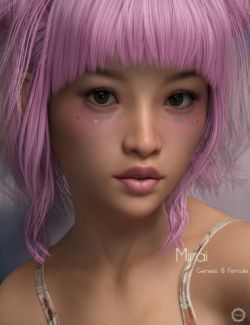 P3D Mirai for Genesis 8 Female