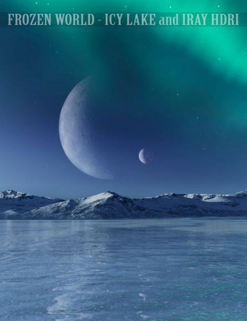 Frozen World - Icy Lake and Iray HDRI |
