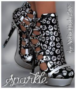 Sparkle Nellie Heels G8F
