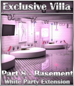 Exclusive Villa: Basement White Party Extension