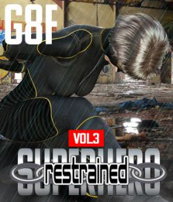 SuperHero Restrained for G8F Volume 3