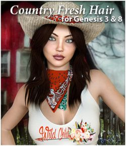Country Fresh Hair for G3 or G8