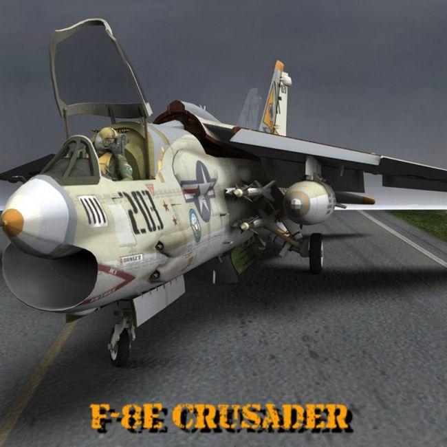 F8E Crusader for Poser
