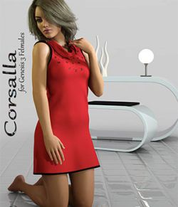 Corsalla for Genesis 3 Females