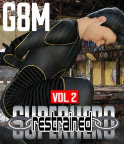 SuperHero Restrained for G8M Volume 2
