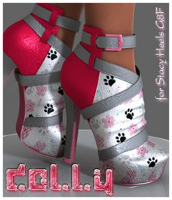 Dolly Stacy Heels G8F