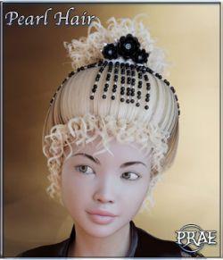 Prae-Pearl Hair G3/G8 Daz