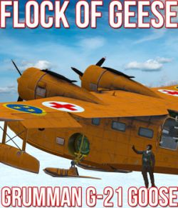 Flock of Geese for Grumman Goose