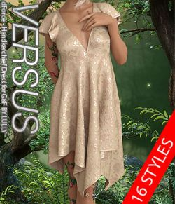 VERSUS- dForce- Handkerchief Dress for G8F