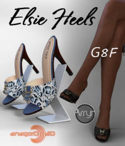 Elsie Heels and Pantyhose G8F