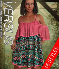 VERSUS- dForce- Gypsy Dress for G8F